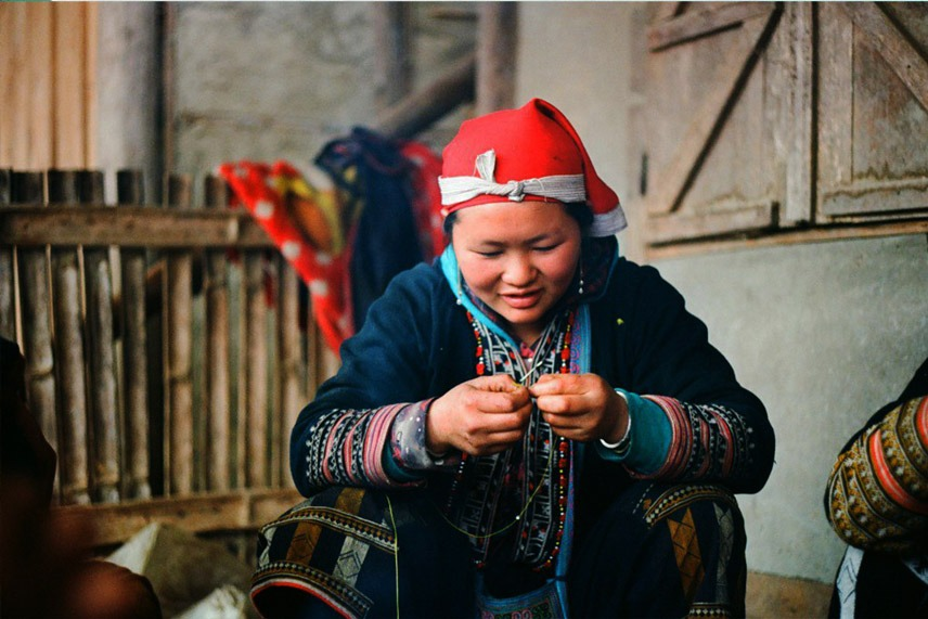 Minoranze etniche vietnamite a Sapa Vietnam